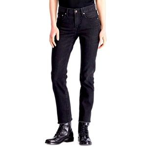 POLO RL WAVERLY STRAIGHT CROP JEANS 28 NWT $198.00
